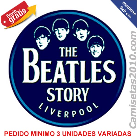 PEGATINA GRUPO MUSICA ROCK THE BEATLES 009a
