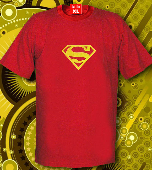 CAMISETA ROJA CON LOGOTIPO DE SUPERMAN Codigo    CAMISETA ROJA SUPERMAN   97b577a5c19