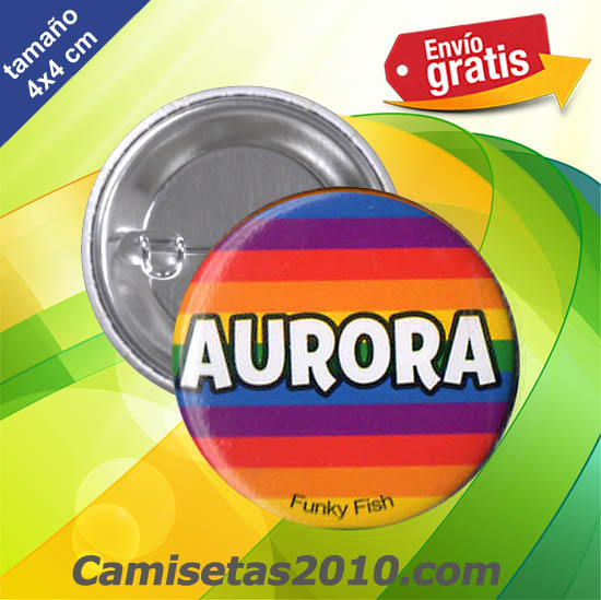 CHAPA PINS COLOR 4x4 AURORA