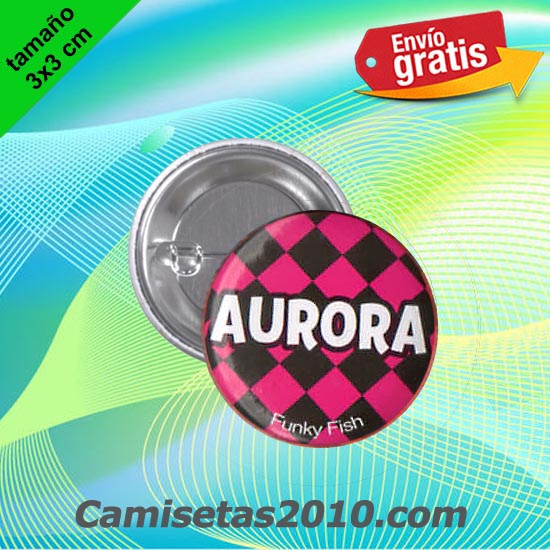 CHAPA PINS COLOR 3x3 AURORA