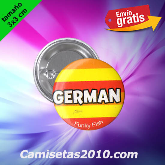 CHAPA PINS COLOR 3x3 GERMAN-