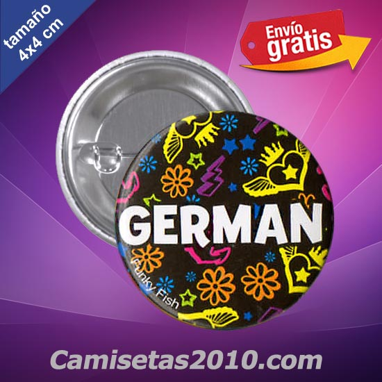 CHAPA PINS COLOR 4x4 GERMAN