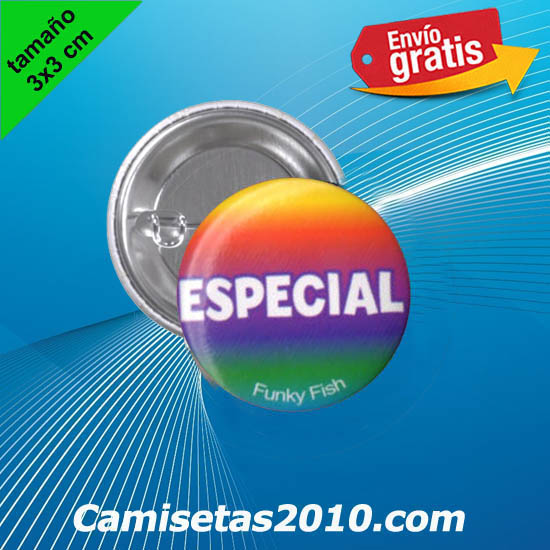 CHAPA PINS COLOR 3x3 ESPECIAL
