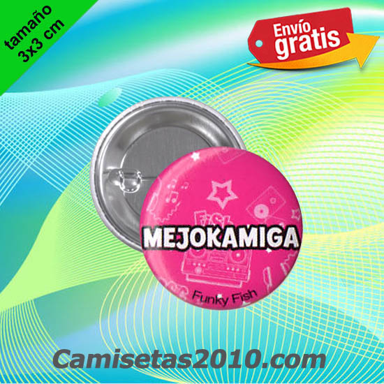 CHAPA PINS COLOR 3x3 MEJOKAMIGA-