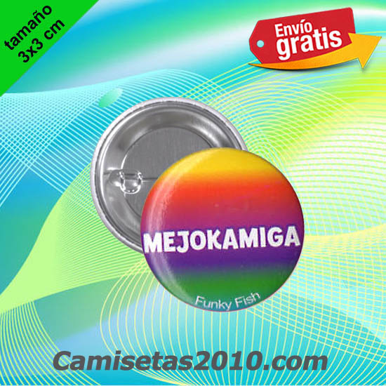 CHAPA PINS COLOR 3x3 MEJOKAMIGA
