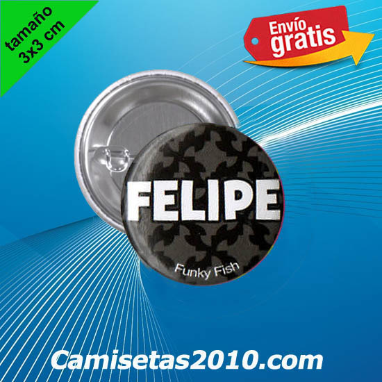 CHAPA PINS COLOR 3x3 FELIPE-