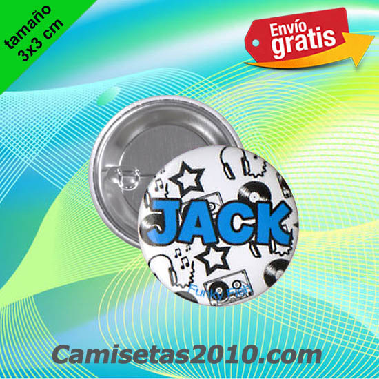 CHAPA PINS COLOR 3x3 JACK-