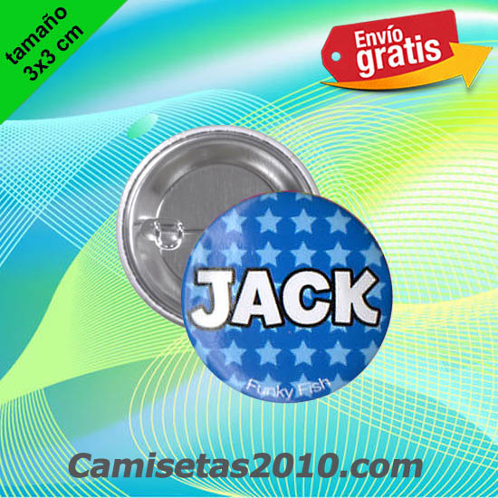 CHAPA PINS COLOR 3x3 JACK