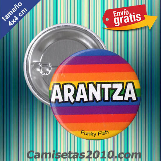 CHAPA PINS COLOR 4x4 ARANTZA