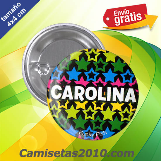 CHAPA PINS COLOR 4x4 CAROLINA