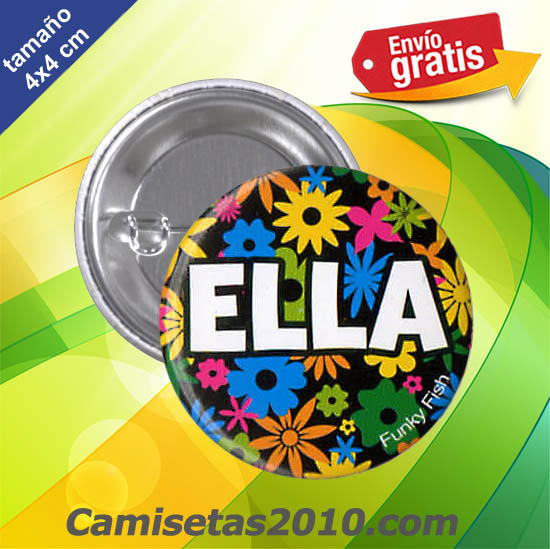 CHAPA PINS COLOR 4x4 ELLA