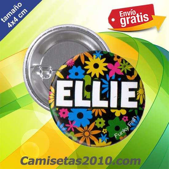 CHAPA PINS COLOR 4x4 ELLIE