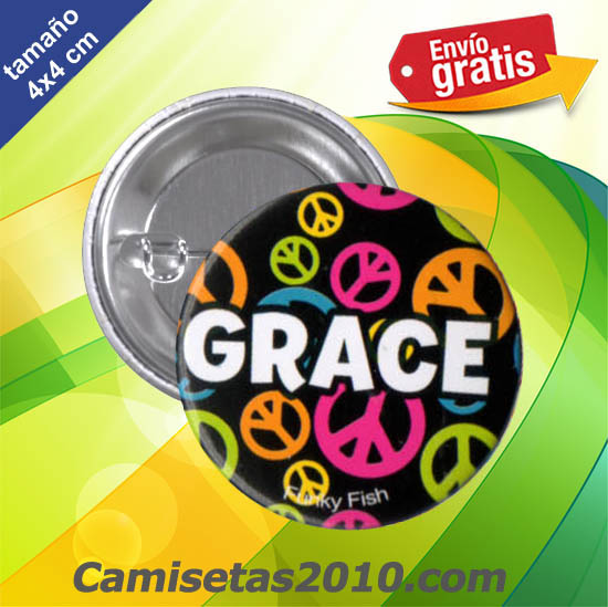 CHAPA PINS COLOR 4x4 GRACE