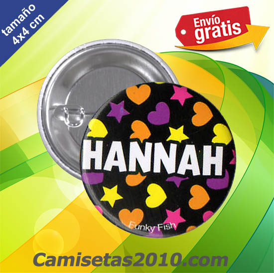 CHAPA PINS COLOR 4x4 HANNAH