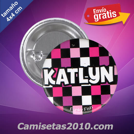 CHAPA PINS COLOR 4x4 KATLYN