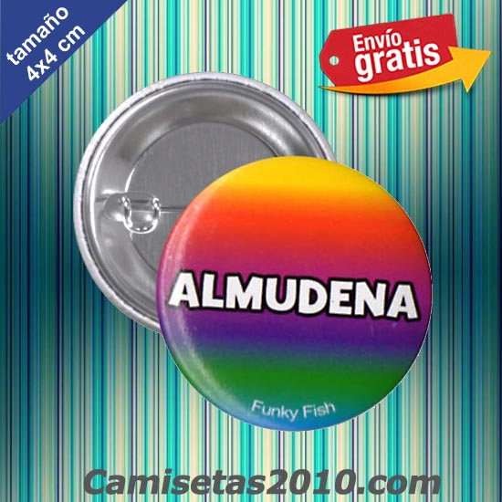 CHAPA PINS COLOR 4x4 ALMUDENA