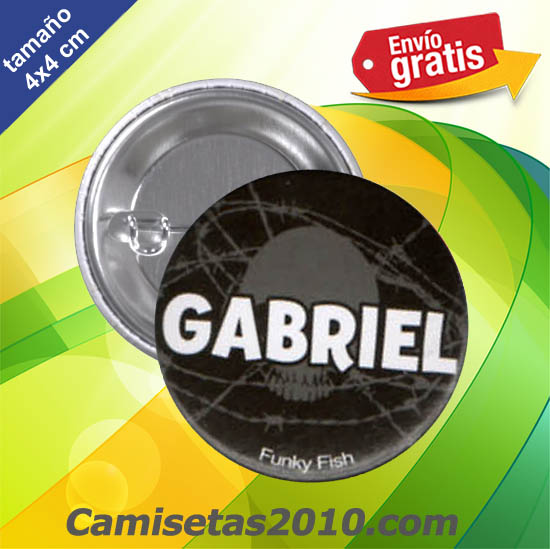 CHAPA PINS COLOR 4x4 GABRIEL