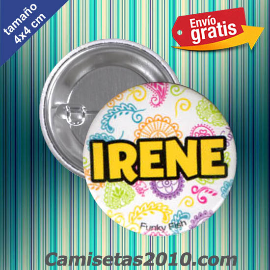 CHAPA PINS COLOR 4x4 IRENE