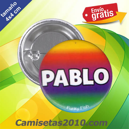 CHAPA PINS COLOR 4x4 PABLO