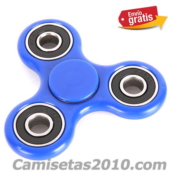 FIDGET SPINNER COLOR AZUL