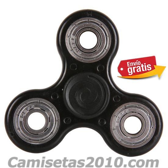 FIDGET SPINNER COLOR NEGRO