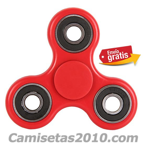 FIDGET SPINNER COLOR ROJO