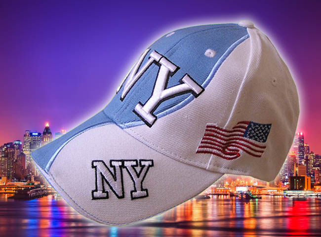 GORRA BORDADA CON BANDERA USA Y NEW YORK3