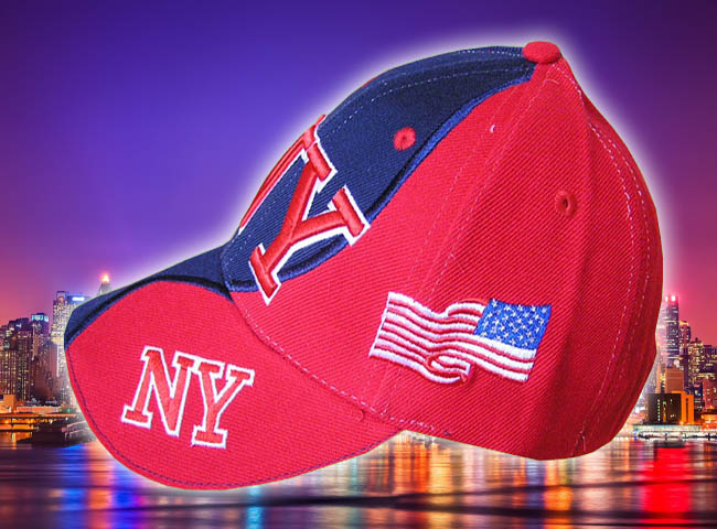 GORRA BORDADA CON BANDERA USA Y NEW YORK4