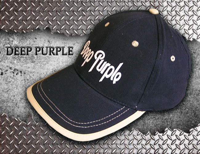 GORRA AZUL GRUPO DE ROCK DEEP PURPLE