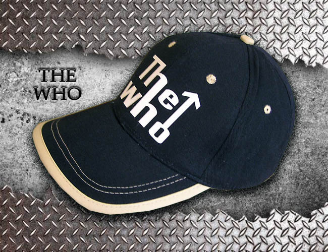 GORRA AZUL GRUPO DE ROCK THE WHO
