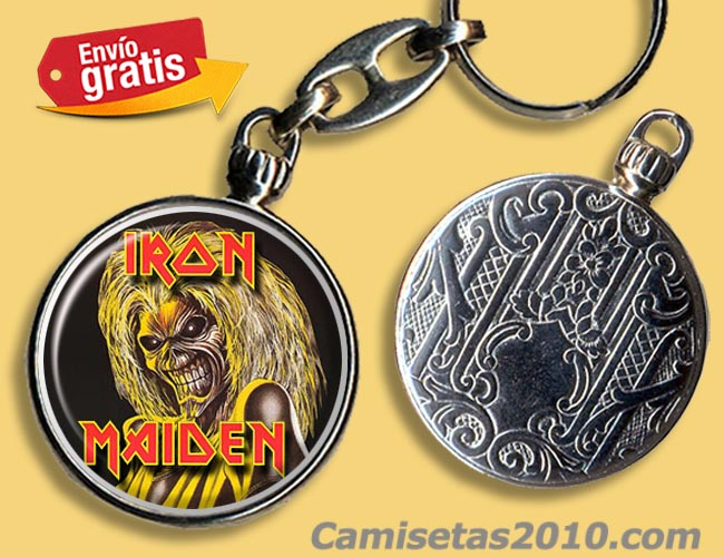 LLAVERO GRUPO IRON MAIDEN KILLERS