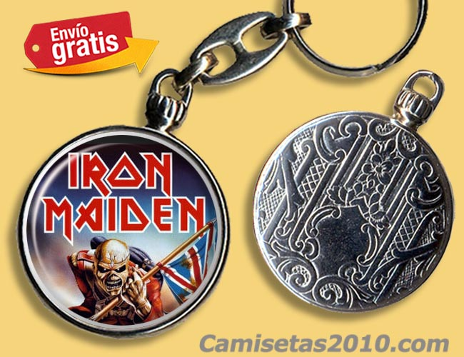 LLAVERO GRUPO IRON MAIDEN THE TROOPER
