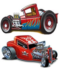 COCCHES AUTOMOVILES RAT ROD